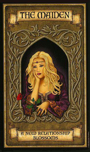 Oraculo Madame Endora: La Doncella - La magia del Tarot