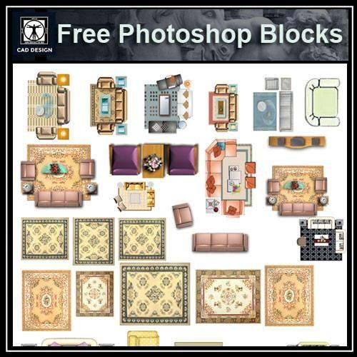 Free Interior Design Software For Pc: Free Photoshop PSD Sofa Blocks