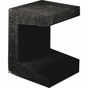 U-element Zwart 40x50x40cm