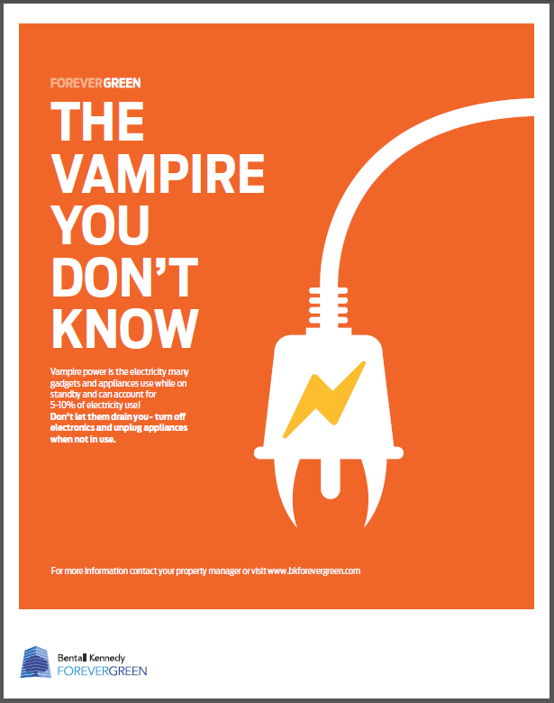 Vampire Power Is The Electricity Many Gadgets And Appliances Use