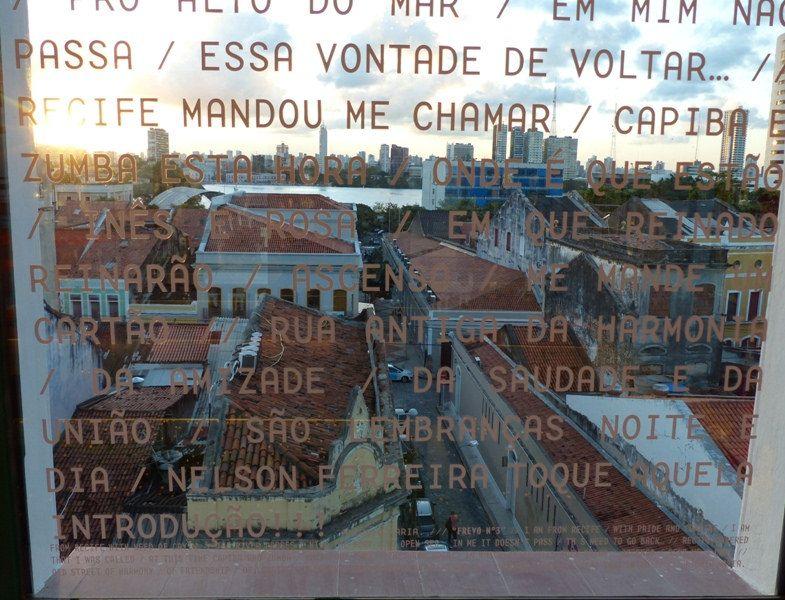 Casario visto da janela do Museu Frevo 006, Recife, Brasil. #PinMyCity