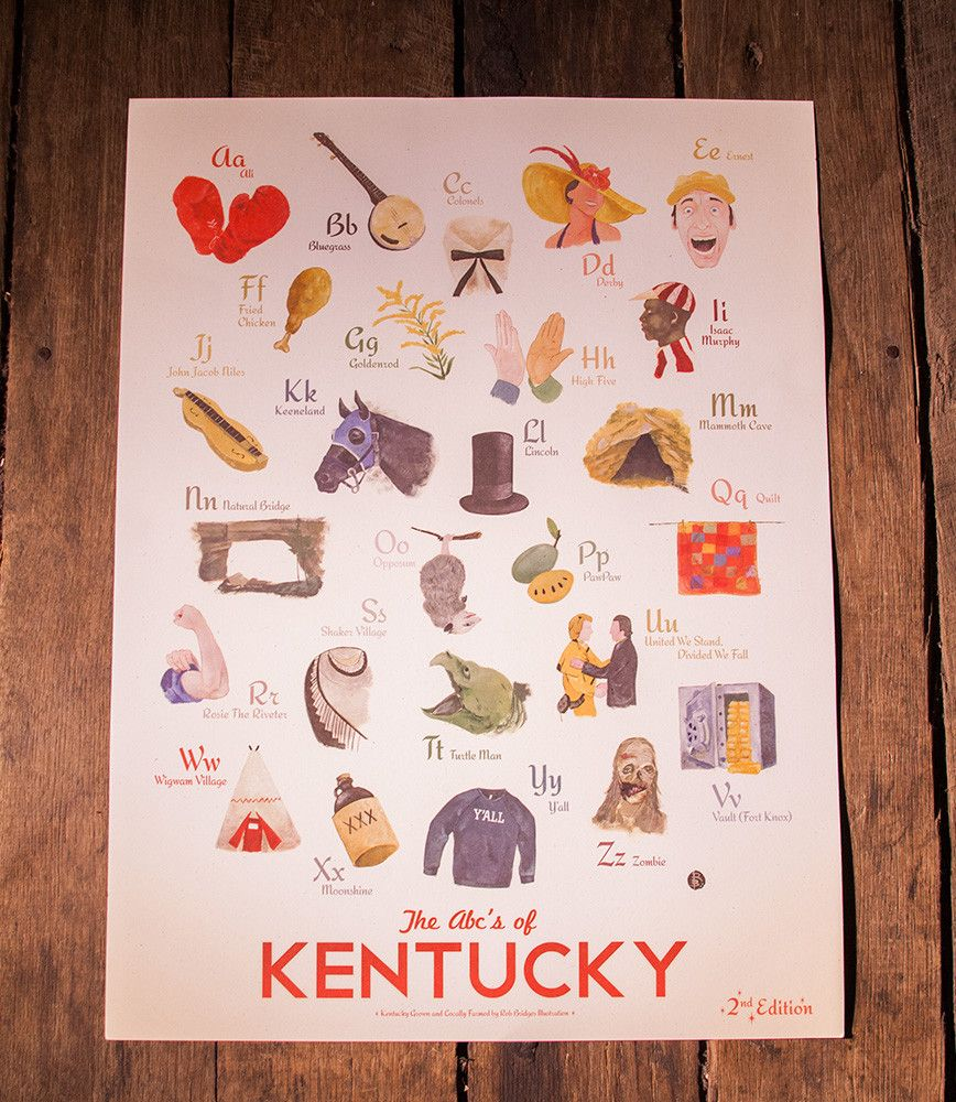 ABCu0027s of Kentucky Print 2nd Edition