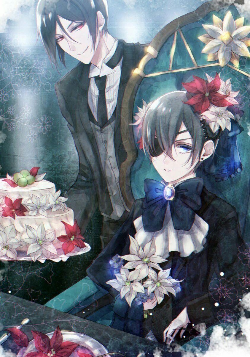 Картинки с днем рождения темный дворецкий