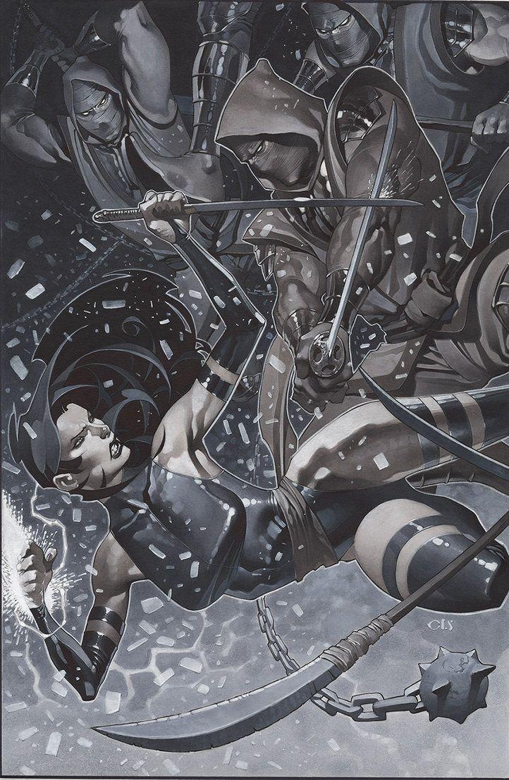 Psylocke by ChristopherStevens on DeviantArt