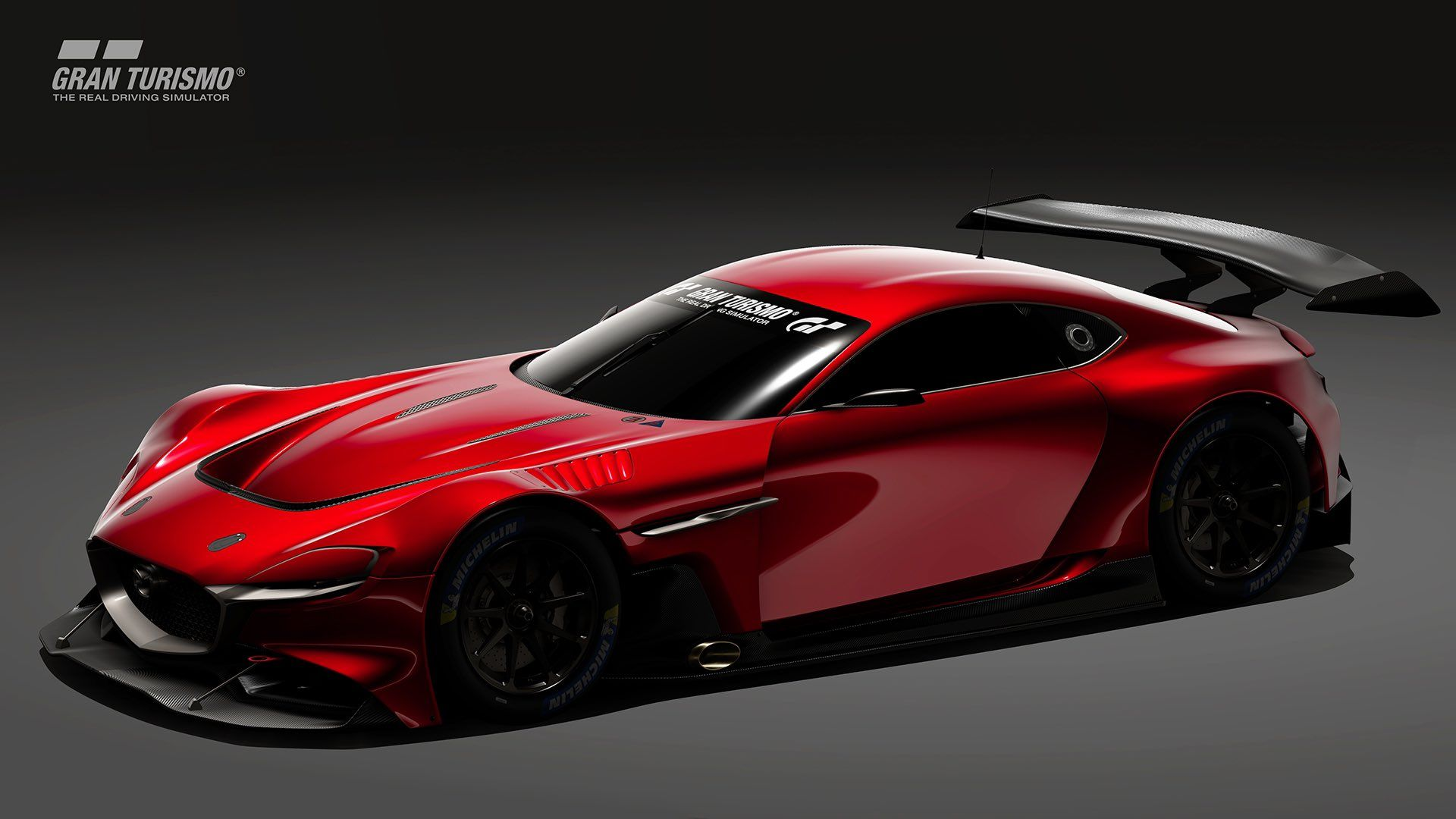 Get Ready To Race The Mazda Rx Vision Gt3 Concept On Your Big Screen Tv Next Year Concepts Granturismo Mazda Mazdaconcepts Mazdavid Mazda Concept Cars Car