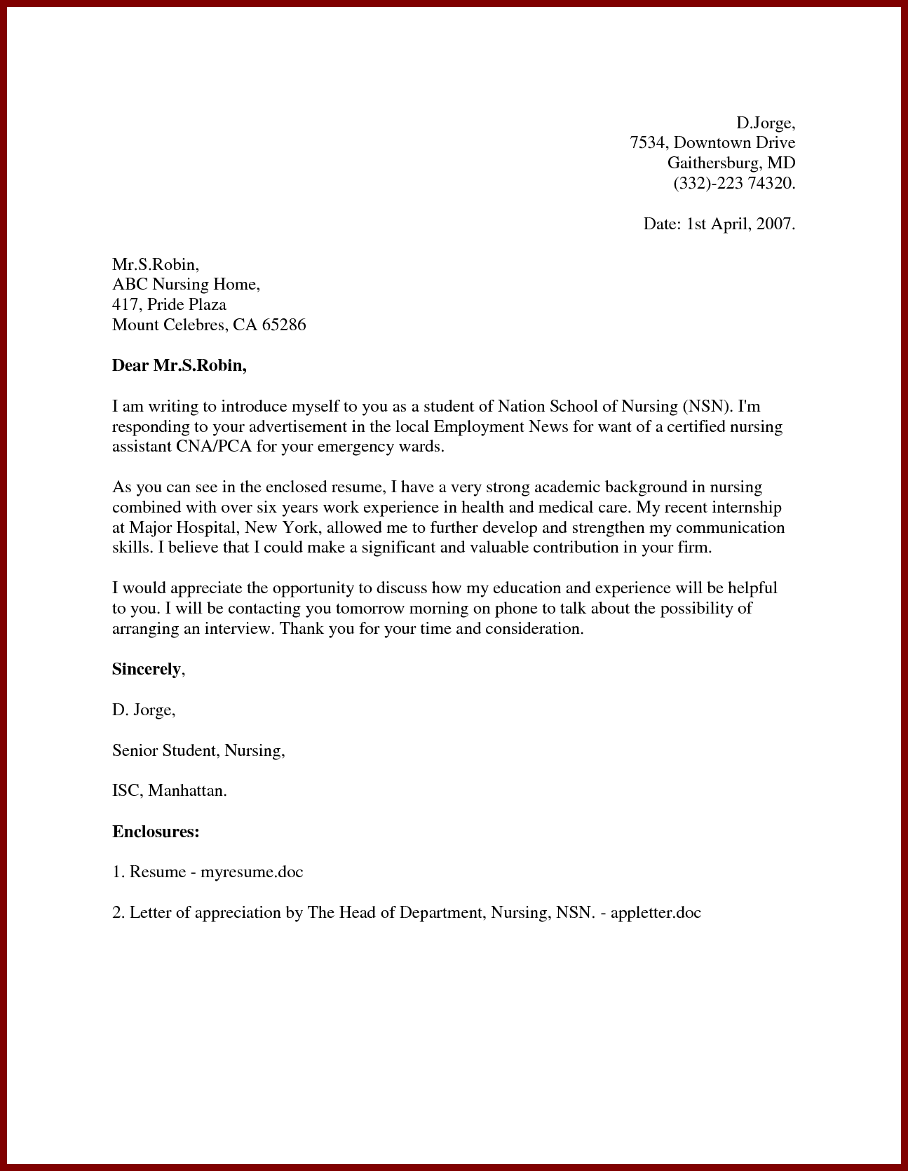 resume format for interior design jobs
