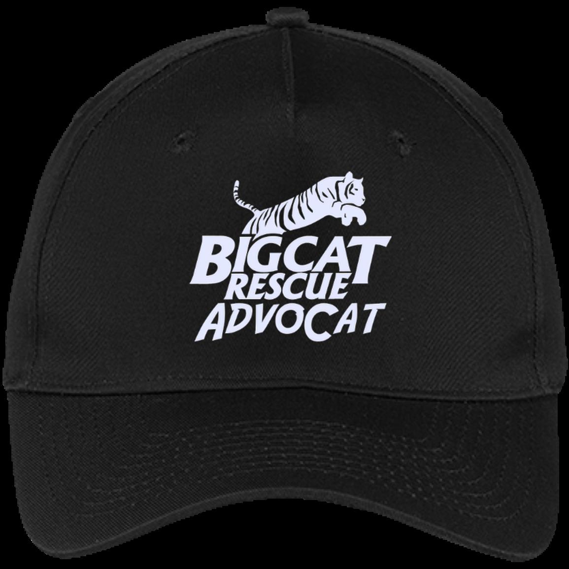 Logo AdvoCat Five Panel Twill Cap Twill, Cap, Cotton twill