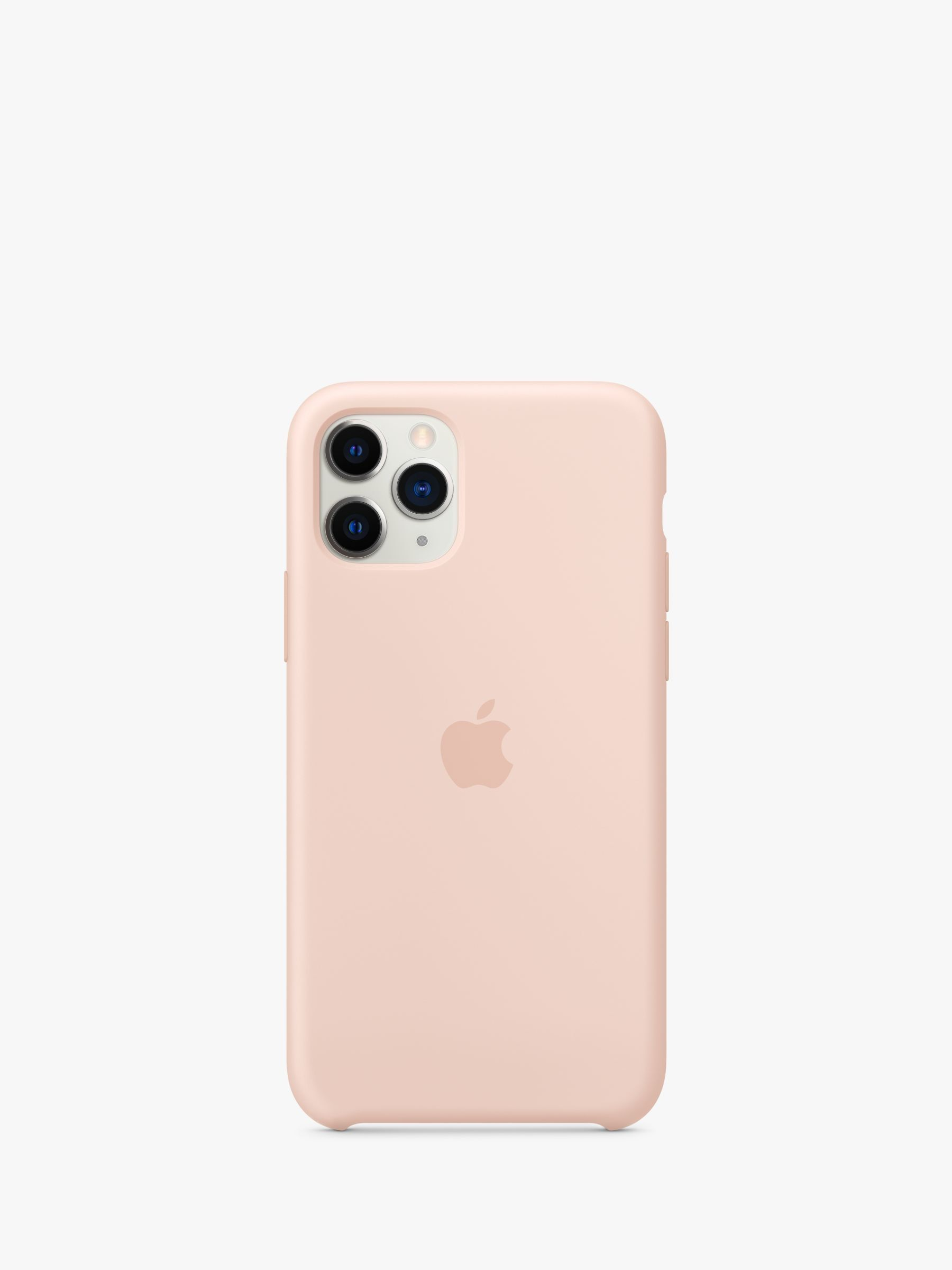 Apple silicone case for iphone 11 pro pink sand iphone