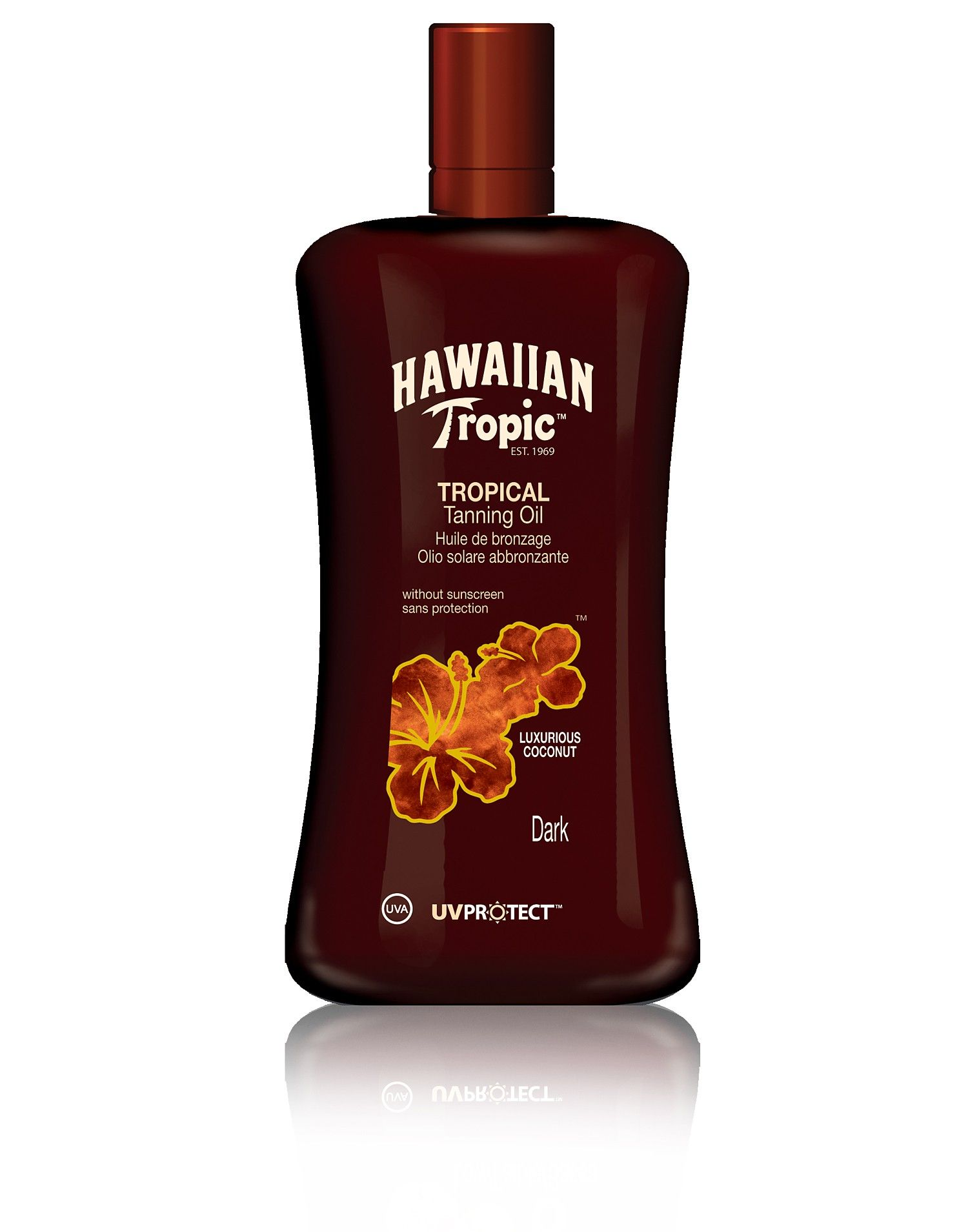 Hawaiian Tropic - No Sunscreen, For Limited Exposure -3529