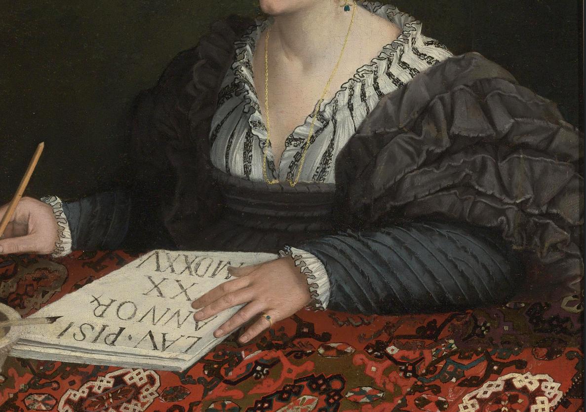 grande sconto del 2019 online qui qualità e quantità assicurate Retrat de Laura Pisani (1525).detall, Gabriele Cappellini ...