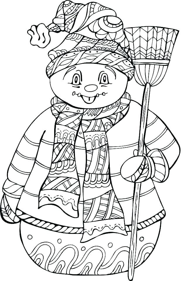Free Printable Winter Coloring Pages For Kids Coloring Pages