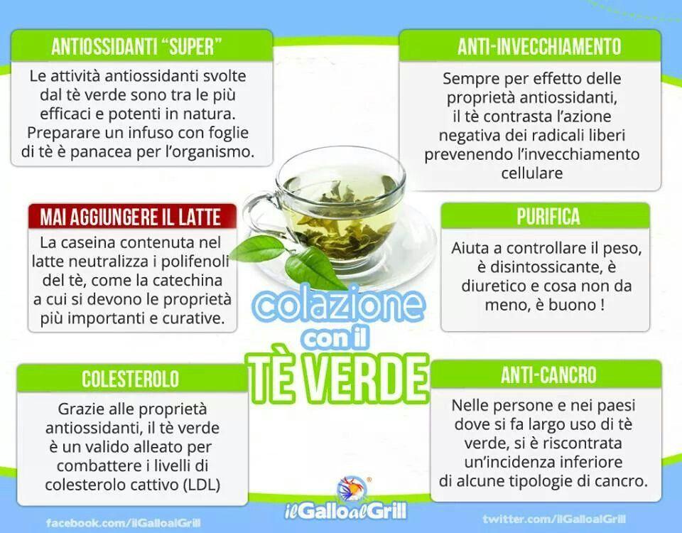Drinking tè verde