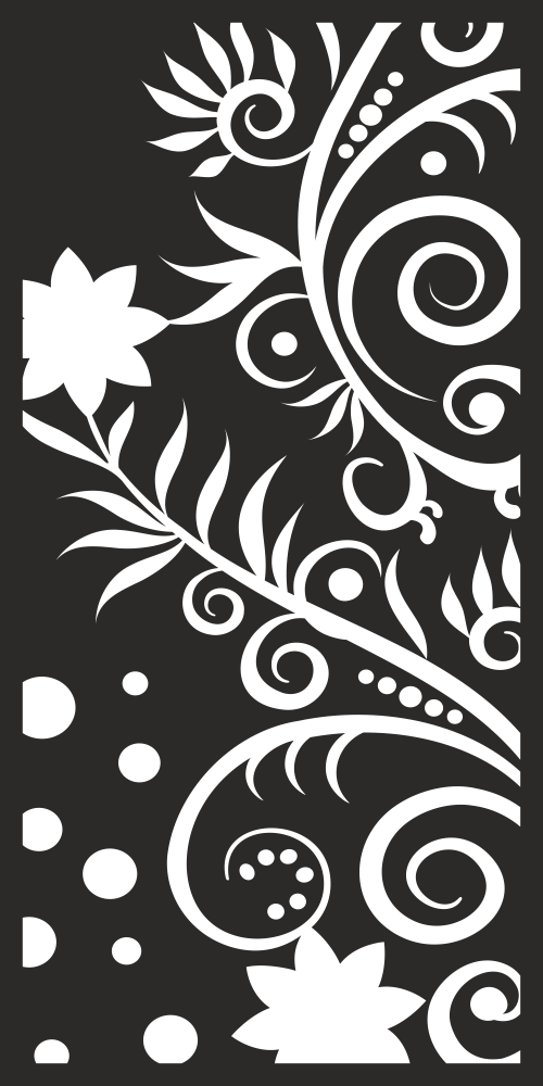 Vector Seamless Floral Pattern Free Vector cdr Download   Screen