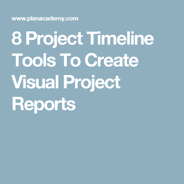 visual project timeline