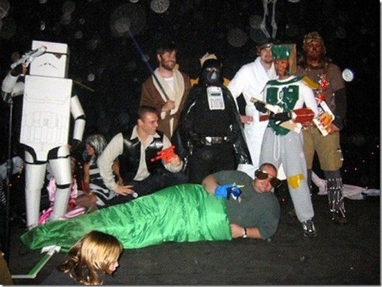 Funny photos, star wars costume fails, halloween, jabba the hut ...