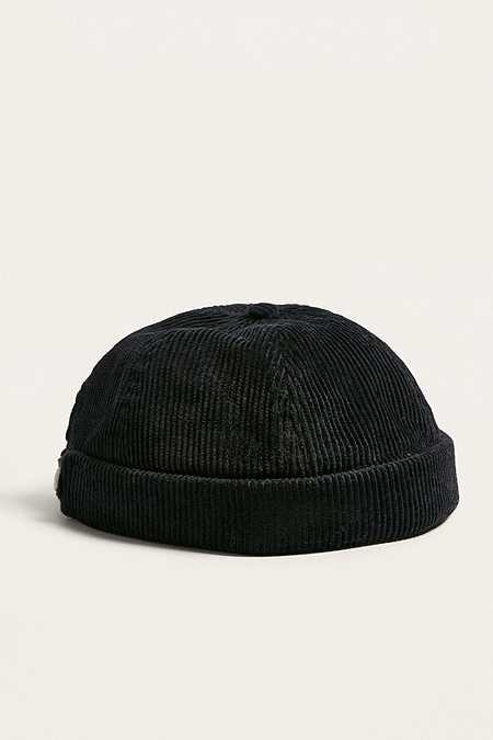 UO Black Cord Docker Cap Hats For Men 28b60c1a13e