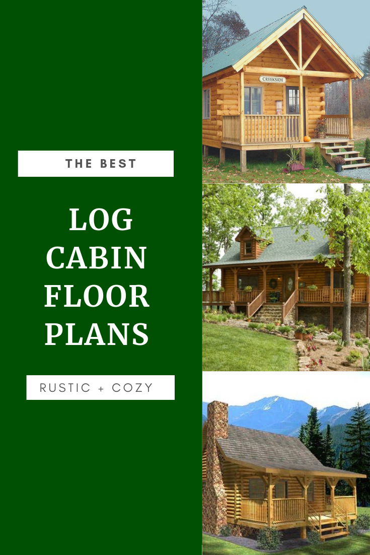 Rustic And Cozy Log Cabin Floor Plans Log Cabin Floor Plans Cabin Floor Plans Cabin Floor