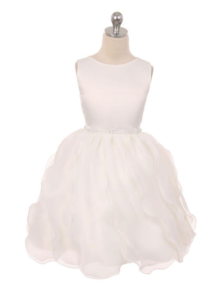 Flower girl dress just unique boutique wedding pinterest