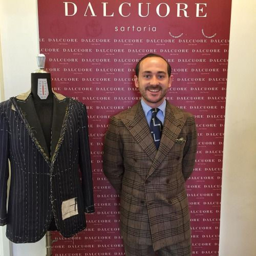 perfettobenedetto:  Just picked up this suit today. @sartoria_dalcuore did an…