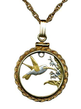 hummingbird and trinidad pendant tobago coin plated republic of product w gold defaultimage