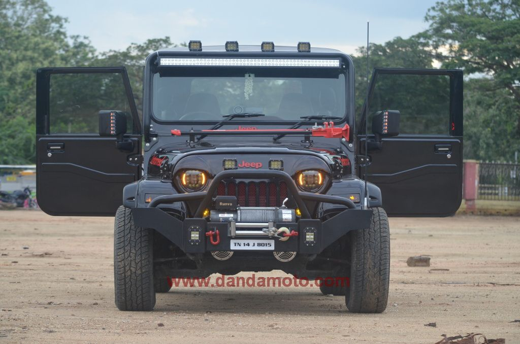 Http Www Dandamoto Com Our Services Mahindra Thar Customisation
