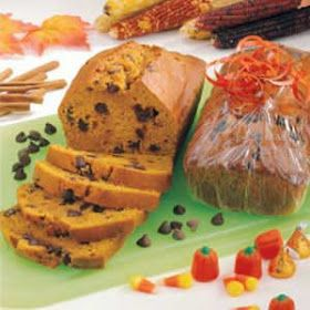 Joan's Bunchberry Bites: Joan's version of Great Harvest Pumpkin Chocolate Chip Bread