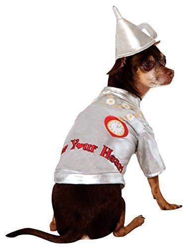 Wizard of Oz Costume: Fun Family and Group Costumes #area51partyoutfit Wizard of Oz Pet Costume, Medium, Tin Man #area51partyoutfit