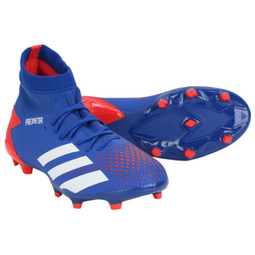 Adidas Predator 20 3 Fg Football Shoes Soccer Cleats Blue Red Eg0964 In 2020 Football Shoes Mens Football Boots Soccer Cleats