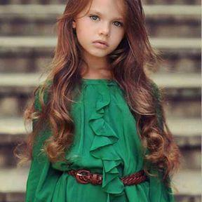 coiffure petite fille 50 mod les pour tre la plus jolie. Black Bedroom Furniture Sets. Home Design Ideas