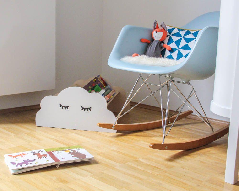 Wolkenregal Kinderzimmer ideal für Kinderbücher