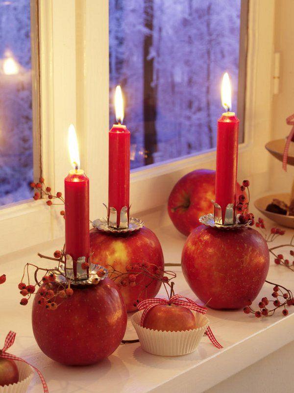 Kerzenständer selbermachen - Wohnidee.de | christmas / Weihnachten ...