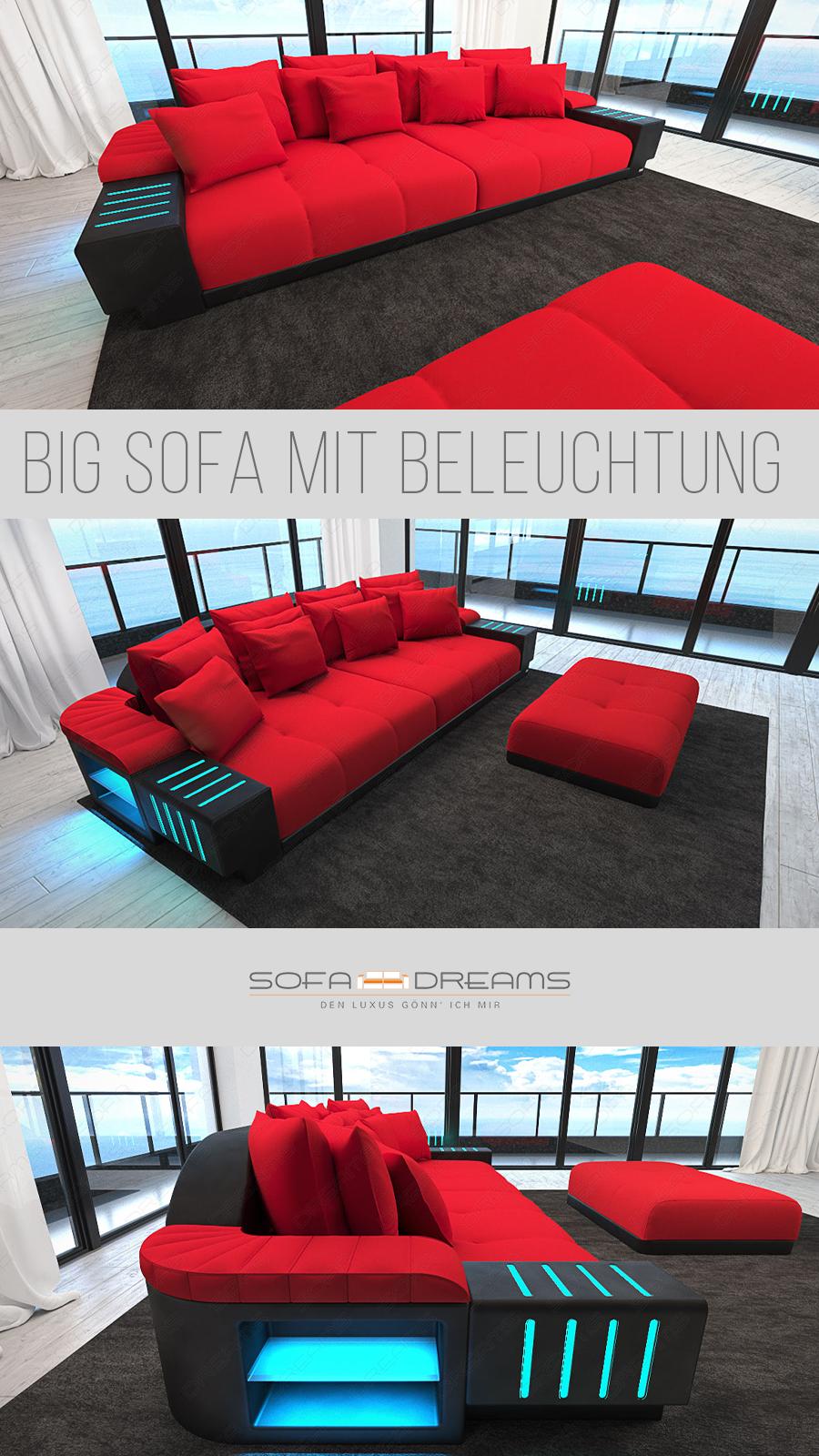Big Sofa Bellagio In 2020 Grosse Sofas Designer Couch Wohnzimmer Gemutlich