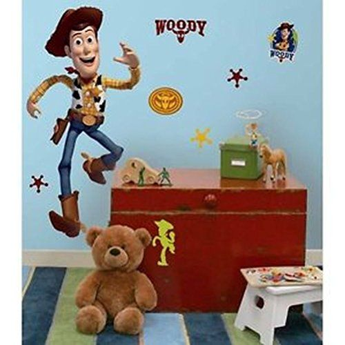 Defonia Toy Story 3 Woody Big Wall Mural Vinyl Sticker Room Decor