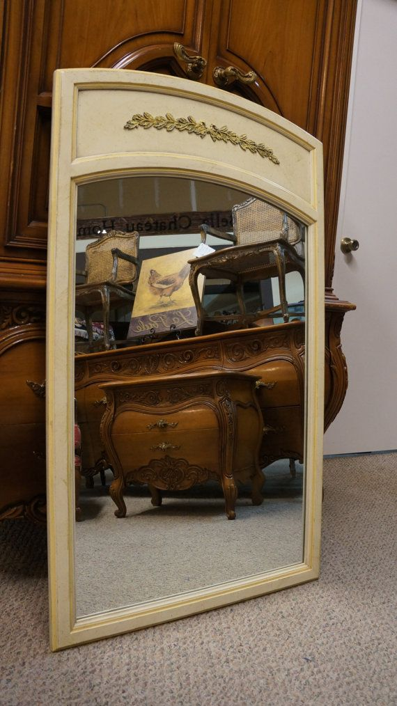 mirror vintage mirror shabby chic mirror cottage mirror