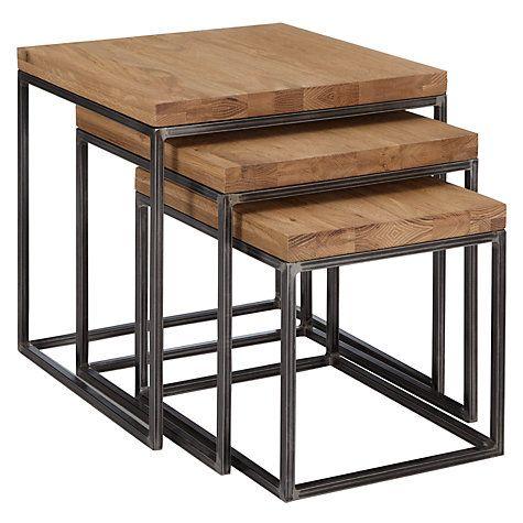 Buy £250 John Lewis Calia Nest Of 3 Tables Online At Johnlewis.com More