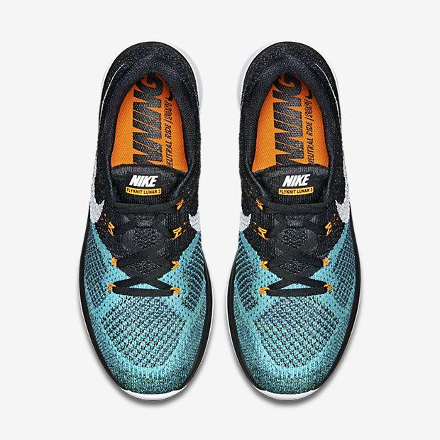 Nike Flyknit Lunar 3 Blackhyper Jadetotal Orangewhite 7099 Lrg Jpg 620 620 Running Shoes For Men Nike Flyknit Lunar 3 Shoes Pairing
