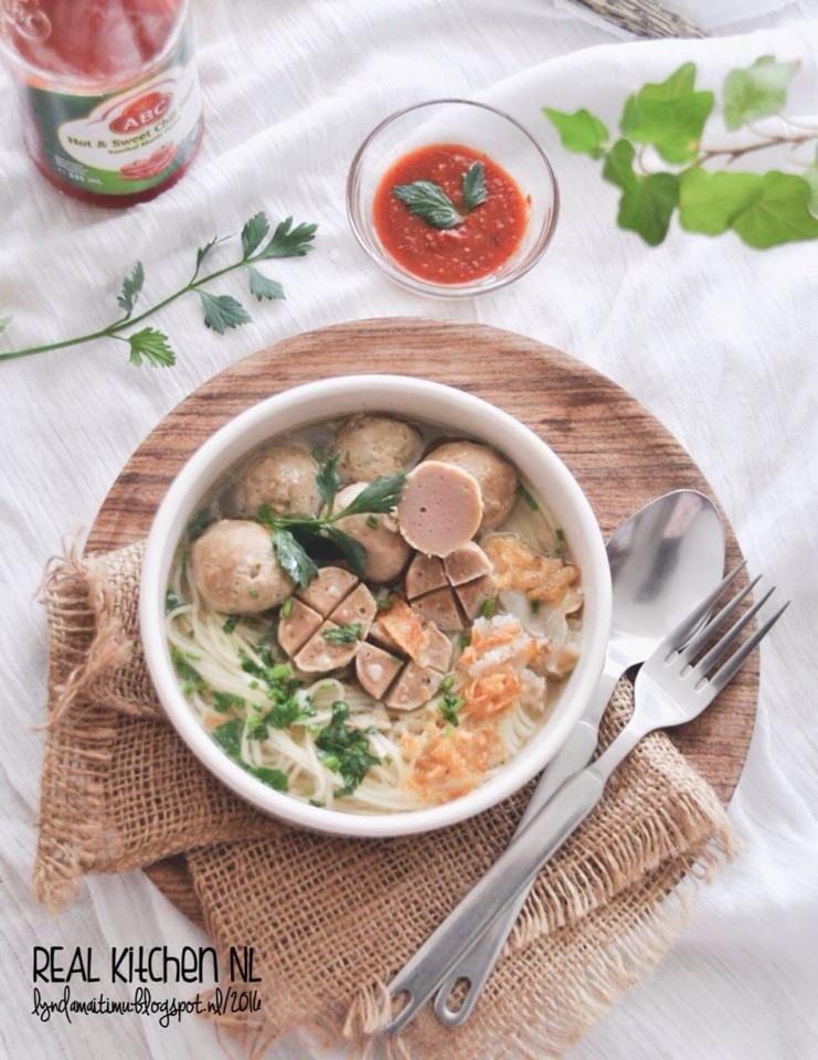 Real Kitchen Nl Homemade Baso Sapi Makanan Dan Minuman Masakan Fotografi Makanan