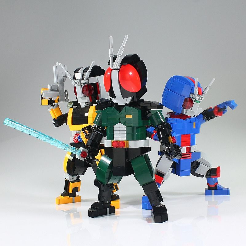 masked rider black rx lego cool lego lego robot