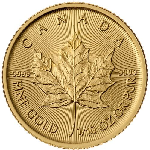 2015 1 10 Oz Canadian Gold Maple Leaf Coin Bu In 2020 Gold Coins Maple Leaf Gold Buy Gold And Silver