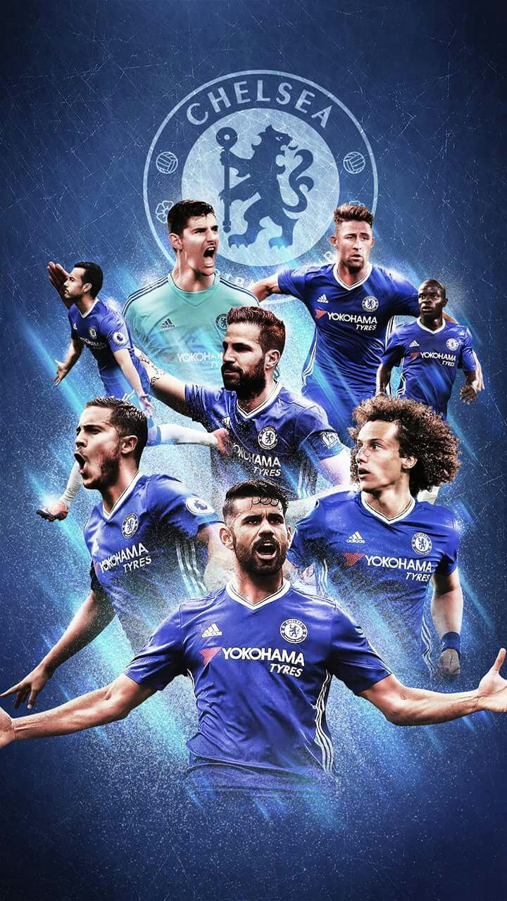 Chelsea Football Club League Champions 2016/17 สโมสร