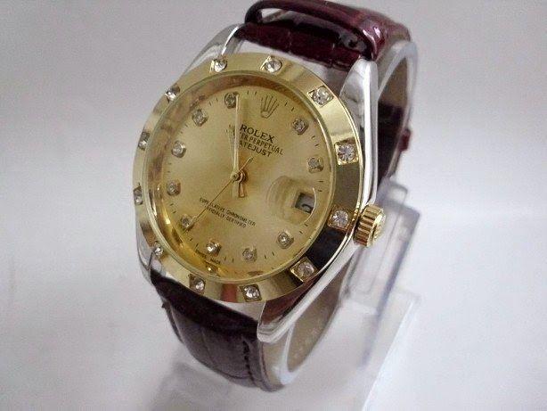 Grosir Jam Tangan Online  Jam Tangan Rolex Oyster Perpetual Datejust Kulit fc65dd84f2