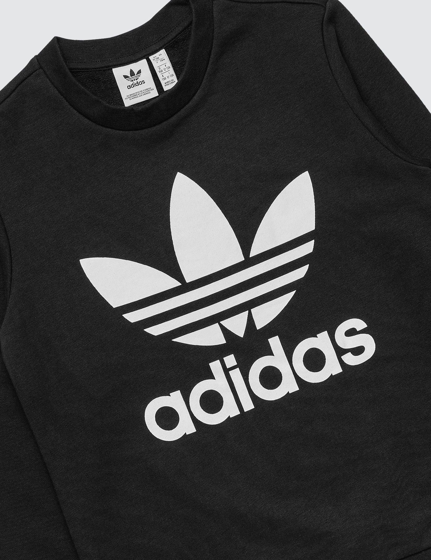 Adidas Adidas Originals Crew Neck Sweatshirt Farfetch Adidas Sweatshirt Mens Adidas Sweater Crew Neck Sweatshirt [ 1334 x 1000 Pixel ]