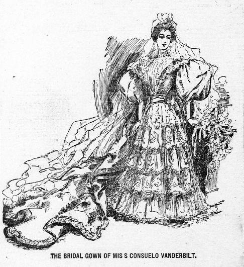 Consuelo Vanderbilt   St. Paul, Minn, Sunday Globe (3 Nov 1895 ...