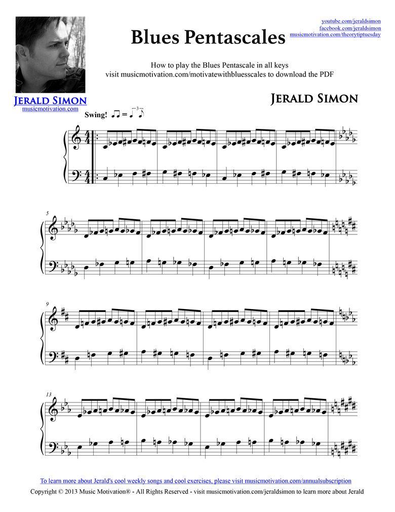 Pdf lessons free piano blues