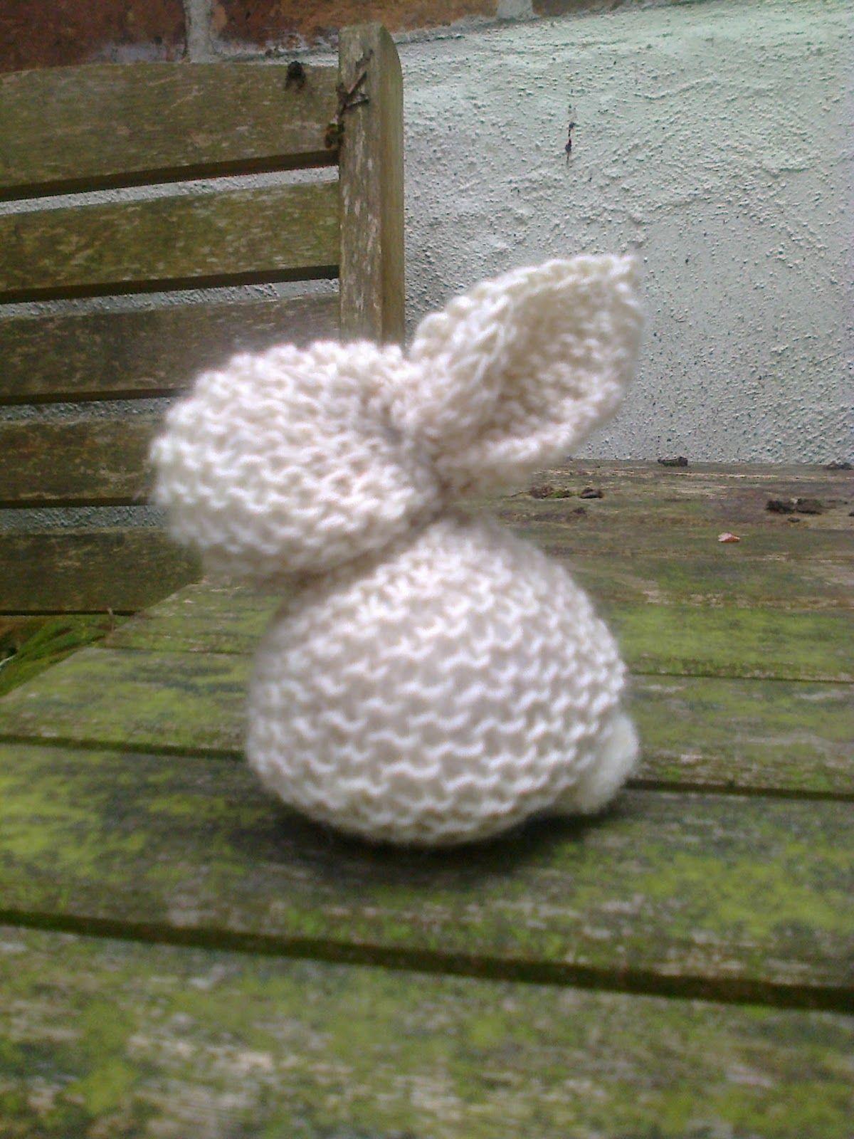 Breien En Haken In Oostende A Knitted Bunny Rabbit For Beginners