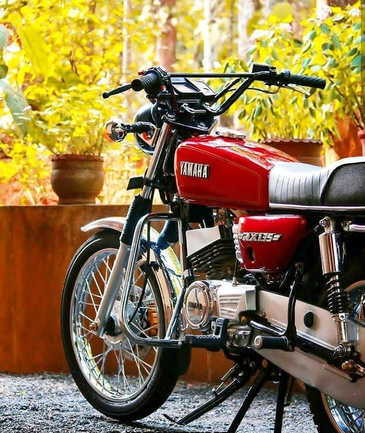 Yamaha Rx 100 Modified Bike Google Search Yamaha Bikes Yamaha