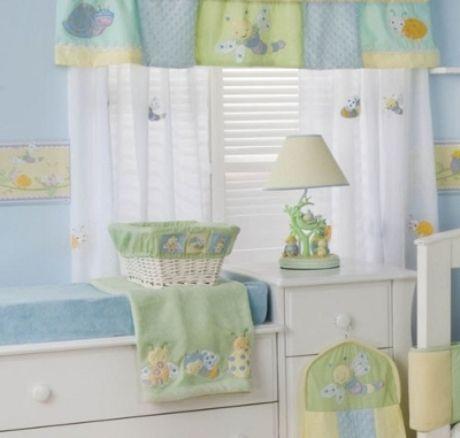 cortinas para cuarto de bebe