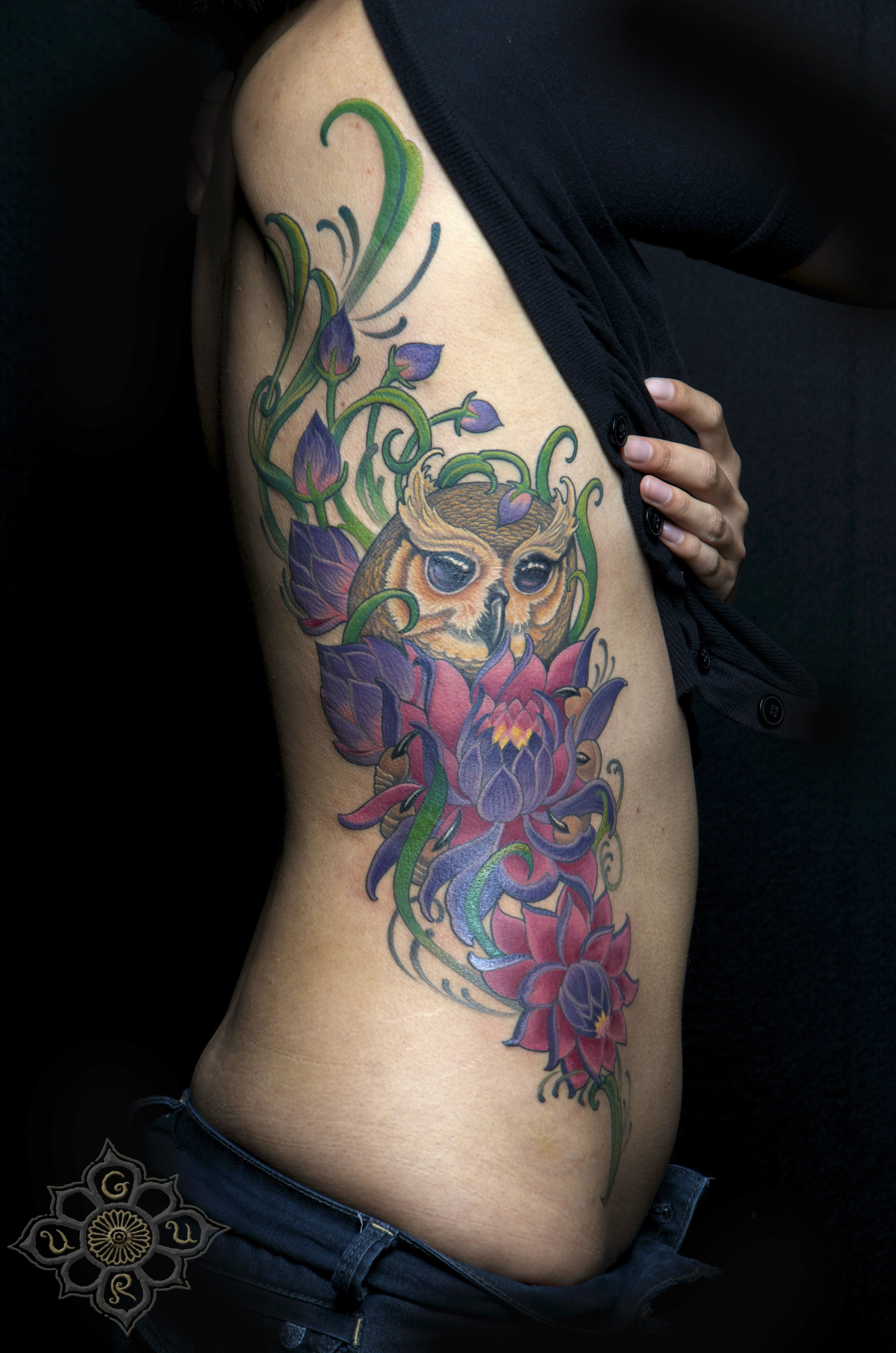 Side Piece By Champion Grubbs Guru Tattoo San Diego Ca