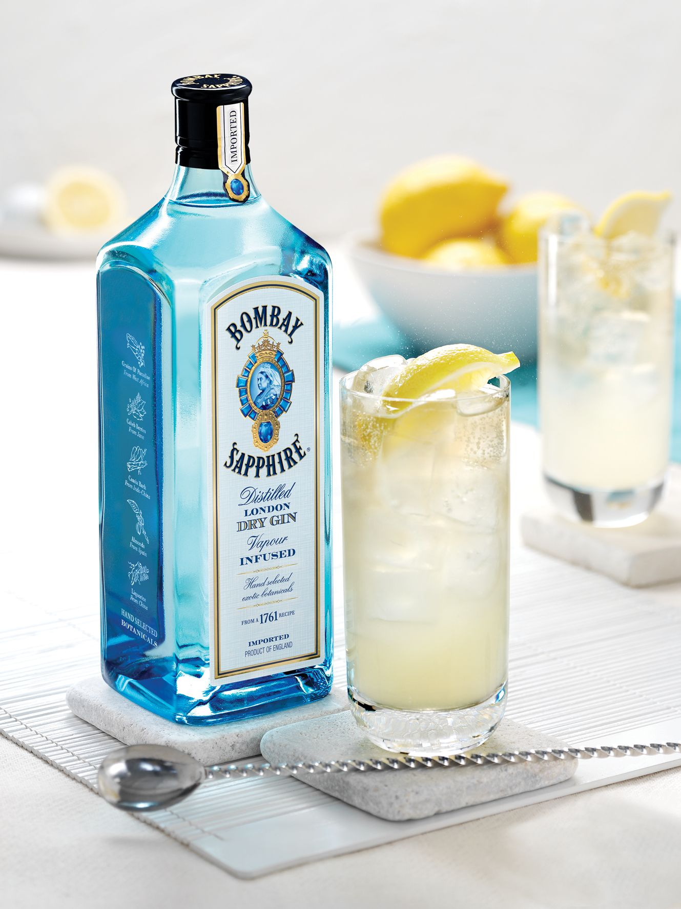 Bombay Sapphire Collins Dry Gin London Dry Gin Vodka Bottle