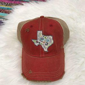 87df1885 Distressed Vintage State Pride Trucker Caps | My Style | Vintage ...